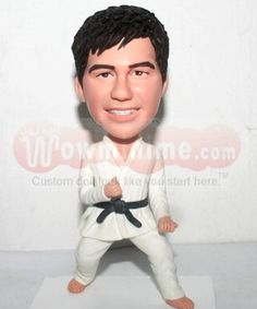 Male Taekwondo custom dolls - D-316