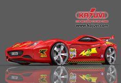 Coche cama modelo speed cobra www.kajuvi.com