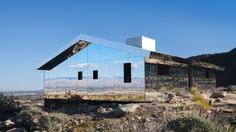 """Our architecture critic visits Doug Aitken's """"Mirage"""" and other installations in the DesertX series"""