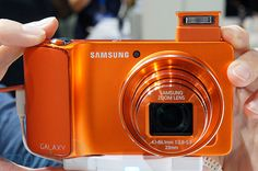 Colors! Samsung's Galaxy Camera pops at Photokina with vibrant orange and magenta paint jobs