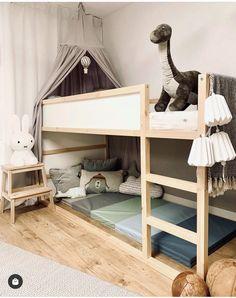 Kura Ikea, Bunk Beds, Kids Room, Interior, Furniture, Home Decor, Homes, Room Kids, Decoration Home