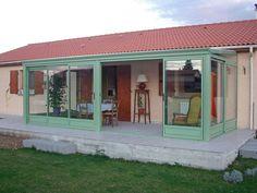 La Véranda Agate par Yvazur Agate, Garage Doors, Shed, Outdoor Structures, Outdoor Decor, Home Decor, Decoration Home, Room Decor, Agates