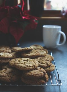 Soft Molasses Cookies, Gluten-free - With Style & Grace