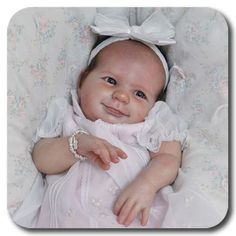 Jadon has a baby picture that looks very close to this. May just build one  :) Eliza (6 weeks) by Donna RuBert