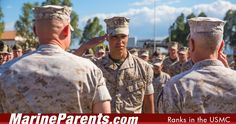 This list is in ascending order. It includes pay grades and abbreviations in the style used by the Marine Corps.