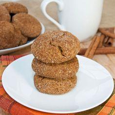 Pumpkin Gingersnap Cookies {Sweet Pea's Kitchen}