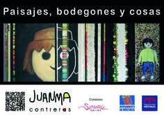 cartel para la exposición PAISAJES, BODEGONES y COSAS en el Museo de la Ciudad de Móstoles. + info: http://pinturajuanmacontreras.blogspot.com.es/search?updated-max=2012-09-18T02:19:00-07:00&max-results=3&start=3&by-date=false