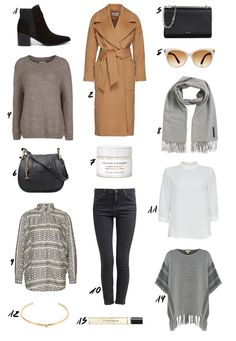 New Fall Picks from www.thedashingrider.com with a lot of neutrals from Esprit, Edited, Chloé and a lot more