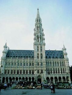City Hall of Brussels (click to zoom)