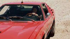 Alfa Romeo Montreal - Drive My Body by Simon Bolz. Model: Melisa Mendini