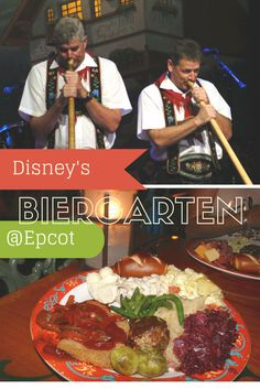 Germany's Biergarten restaurant is one of my favorite in all of the 4 Walt Disney World parks.  For one fixed price, enjoy multiple trips to the authentic buffet, sodas, and the lively entertainment.