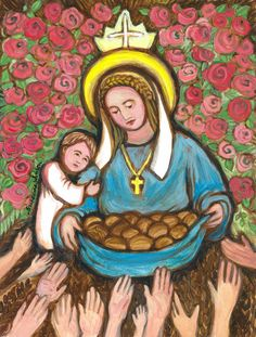 Saint Elizabeth of Hungary Patron Saint of Widows Nurses Bakers Homeless Death of Children Young Brides Confirmation Gift Catholic Art, Catholic Saints, Patron Saints, Saint Elizabeth Of Hungary, San Francisco, Queen, Sign Printing, Special People, Language Arts