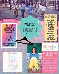 If you're new to LuLaRoe, this is a great starting point!  Learn More: https://www.facebook.com/LLRKateLea/