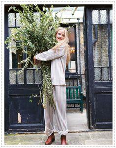 plants and pajamas