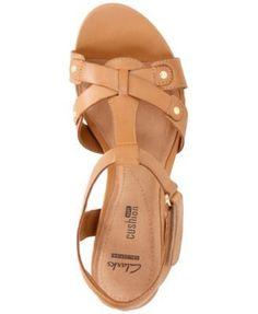 09784b95cff Clarks Collection Women s Banoy Valtina Dress Sandals   Reviews - Sandals    Flip Flops - Shoes - Macy s