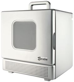 iWavecube IW600SIL 600-Watt Personal Desktop Microwave Oven, Silver * Check this awesome product by going to the link at the image.