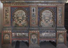 Painted trunk, 1774, Vienna, The Austrian Museum of Folk Life and Folk Art