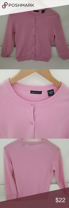 Cashmere sweater 100% cashmere button down cardigan, good condition wore once Moda International Sweaters Cardigans