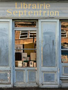 Librairie Septentrion ~ Saint-Malo, France