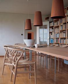 wooden dining chairs