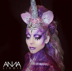 Unicorn And Fairies, Unicorn Fantasy, Unicorns And Mermaids, Unicorn Headband, Unicorn Hair, Unicorn Makeup, Mermaid Makeup, Unicorn Challenge, Unicorn Wings