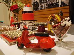 Festa Retrô - anos 50 - Invento festa