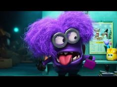 Panic in the mailroom ★ Funny Minions Video ★ Purple Minions, Funny Minion Videos, Laughter, Joker, Valentines, Youtube, Fictional Characters, Medicine, Thoughts
