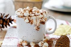 Ashley Pletcher has shared with Femail Food&Drink her recipe for spiced red wine hot choco...