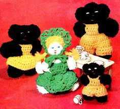 Goldie Locks & the Three Bears Dolls