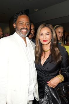 Tina Knowles Lawson and Richard Lawson   - 8 Celebrity Women Who Found Love Again and Remarried