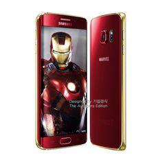 Samsung Galaxy S6 y S6 Edge Iron Man Edition nuevas versiones para Junio