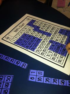 Help build number concepts with 100 chart activities!