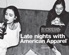 猥褻か芸術か?渦中の #アメリカンアパレル 広告 ジャパラ厳選 部屋に飾れる #アメアパ ポスター40枚 ...