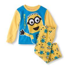 Turkey got baby boy all tuckered out? Slip him into this mischievous Minion PJ set! #despicableme
