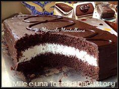 Torta Kinder Bueno - Le Mille e una Torta di Dany e Lory Torte Cake, Cake & Co, Fudge Cake, Nutella, Sweets Recipes, Cake Recipes, Fiesta Cake, Cooking Cake, Gingerbread Cake