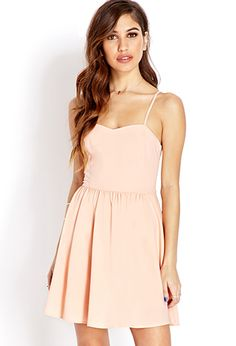 Cool Girl Caged Dress | FOREVER21 - 2000088065  @Lindsay Powell might want to check this one out for bridesmaid dress.