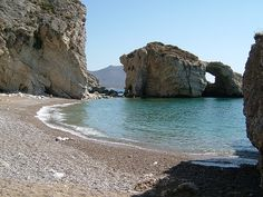 Kaladi beach, Kythira island, south of Peloponnese, Greece Best Beaches In Europe, Best Places To Travel, Places To Visit, Greece Tours, Greece Travel, Greece Culture, Greece Mythology, Greece Honeymoon, Greek Beauty