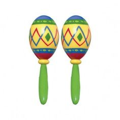 Cinco de Mayo Fiesta Maracas - nyea's Party Store