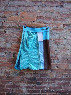 Womens Aline Skirt/ Eco Upcycled Skirt/ with by RebirthRecycling, $55.00