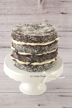 Lamington layer cake for Australia Day. Butter cake coated in chocolate and coconut and filled with jam and cream - Love Cake Create Happy Australia Day, Cake Decorating Tutorials, Sponge Cake, Love Cake, Sweet Bread, Party Cakes, No Bake Cake, Vanilla Cake, Chocolate Cake