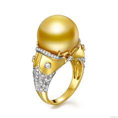 perla d'Australia dorata http://www.gemperles.it/anello-perla-australia-dorata-14-15mm-gemma-oro-giallo-bianco.html