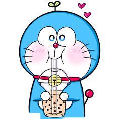 and Drink wallpaper cartoon Doraemon Wallpapers, Cute Cartoon Wallpapers, Iphone Wallpaper Kawaii, Doraemon Cartoon, Tumblr Art, Anime Fnaf, Cartoon Sketches, We Bare Bears, Cute Icons