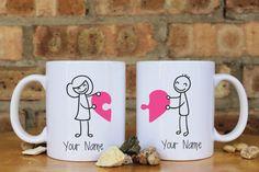 Love Couples Mugs Mr. Love Mugs Ceramic Mug by Love Couples Mugs Mr. Love Mugs Ceramic Mug by Diy Becher, Valentine Day Gifts, Valentines, Perfect Gift For Girlfriend, Girlfriend Anniversary Gifts, Couple Mugs, Mug Art, Diy Mugs, Cute Coffee Mugs