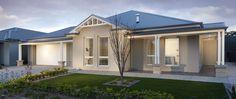 The-Lexington - Regent Homes Exterior Color Schemes, Exterior House Colors, Colour Schemes, Rendered Houses, Display Homes, Reno Ideas, Facade, House Plans, Floor Plans