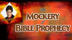 Why do people mock Bible prophecy? Find out on Christ in Prophecy with speaker Jan Markell of Olive Tree Ministries! Pre Tribulation Rapture, In The Beginning God, Purpose Driven Life, Jesus Is Coming, Strong Words, Why Do People, The Covenant, Writing A Book, Knowledge