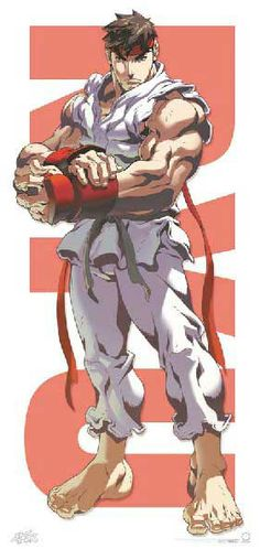 Ryu from Street Fighter Ryu Street Fighter, Capcom Street Fighter, Street Fighter Wallpaper, Game Character, Character Design, Street Fighter Characters, King Of Fighters, Comic Games, Unity 3d