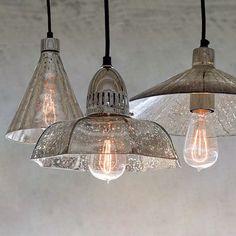 LED Mercury Glass Chandelier Dining Roome Ceiling Lamp Retro Pendant Light  | Home & Garden, Lamps, Lighting & Ceiling Fans, Chandeliers & Ceiling Fixtures | eBay!