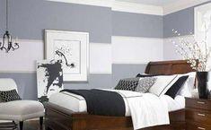 wandfarbe grau-graue wand mit weißen streifen
