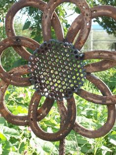 horseshoe garden flower.. LOVE! @Kim Getchell by MercuriK