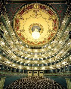Estate Theater interior, Prague, Czechia